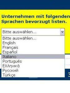 Mit Fremdspracheneintrag besser ranken auf www.dasregionale.ag