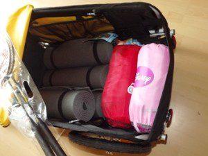 Bepacken des Burley Nomad 2011