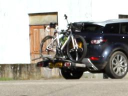 Kupplungträger für Fahrradtransport