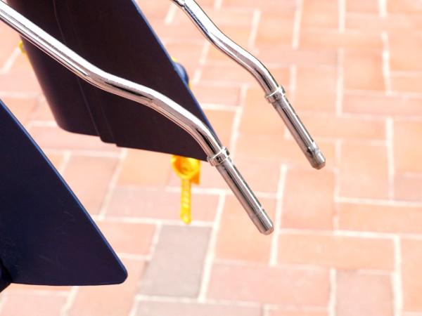 Mehr Flexibilität durch zusätzlichen Fahrradhalter für Kindersitz