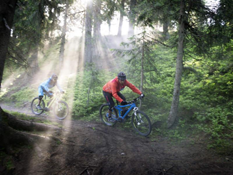 Mountainbiken auf eMTB