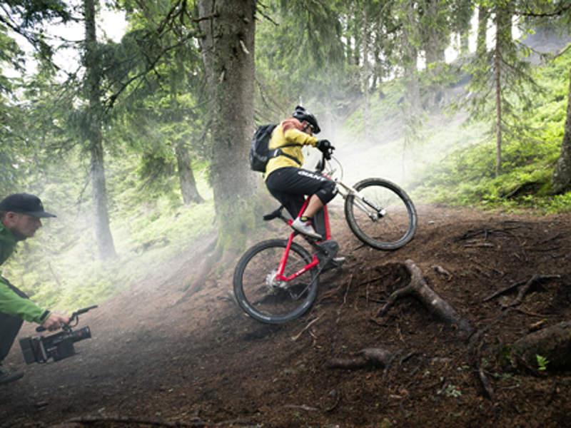 Videodreh Uphill Flow epowered by Bosch