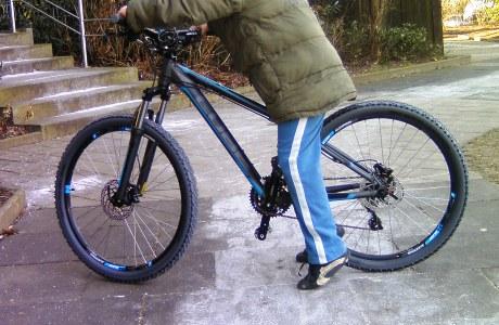 Rahmenhöhe beim Fahrrad wichtig