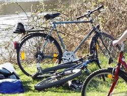 Trekkingrad für Fahrradtouren ideal