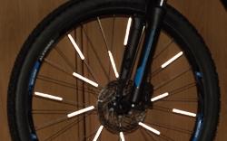 Beleuchtung beim Fahrrad checken