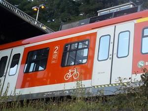 Fahrradmitnahme in Zubringer-S-Bahn unproblematisch