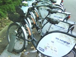 Fahrradständer für den Abstellplatz