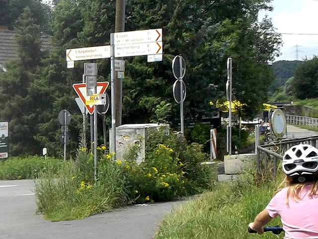 Auf dem Radfernweg durch Deutschland