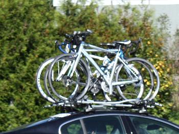 Dachträger für Fahrradtransport