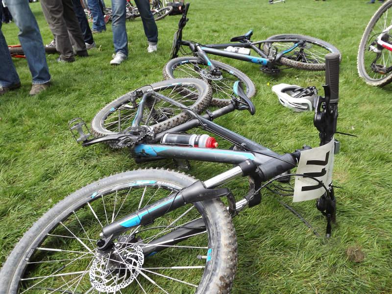 Sportbikes ohne Fahrradschlösser
