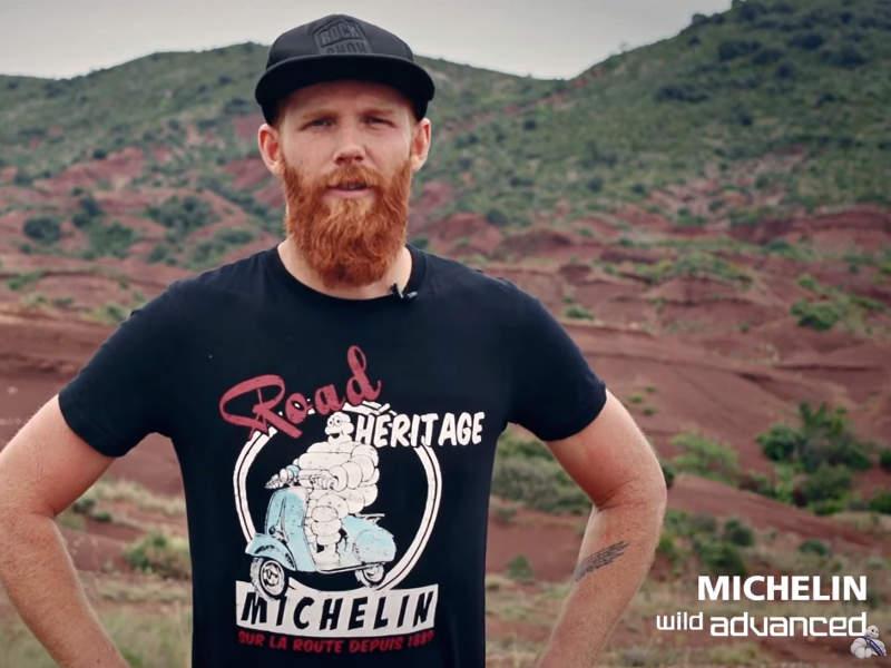 Pierre Edouard Ferry testet Michelin Reifen